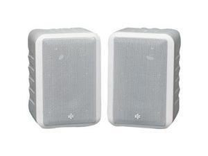BIC America RtR V44-2 Shielded Indoor/Outdoor Speakers, Pair, White