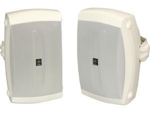 YAMAHA NS-AW350W 2-Way White All Weather Wide Frequency Response Speakers Pair