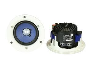 Yamaha NS-IC400WH In-Ceiling Speakers, White, Pair