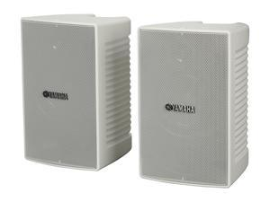 Yamaha NS-AW194 High Performance Outdoor Speakers (White/Pair)