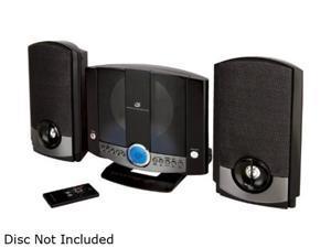 GPX CD/Radio 1-Disc Changer Mini Audio System HM3817DTBLK