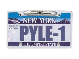 "PYLE License Plate Rear View Backup Camera ""Zinc Metal Chrome"""