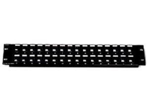 C2G 03859 24-Port Blank Keystone/Multimedia Patch Panel