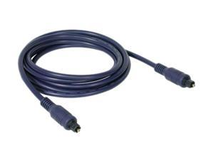 C2G 40391 Velocity Toslink Optical Digital Cable, Blue (6.6 Feet, 2 Meters)