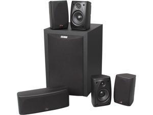 Polk Audio RM6750 Black 5.1 CH Home Theater Speaker System