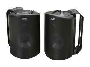 Polk Audio Atrium4 Compact Indoor/Outdoor Speaker (Black / Pair)