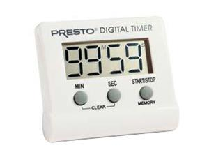 PRESTO 04213 Electronic Digital Timer, White