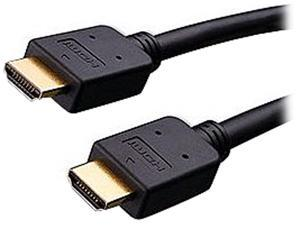 Vanco 255050X 50 ft. Black High Speed 1.4 HDMI Ethernet Channel