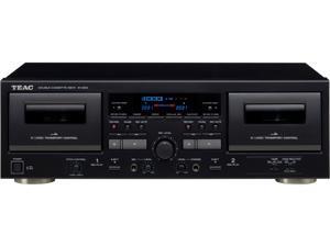 TEAC W-1200-B Double Cassette Deck Player