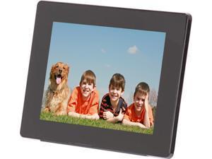 "Aluratek ADMPF108F 8"" 800 x 600 Digital Photo Frame with 512MB Built-in Memory"