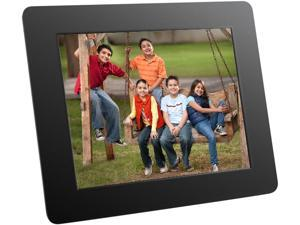 """Aluratek ADPF08SF 8"""" 800 x 600 Digital Photo Frame with Auto Slideshow Feature"""
