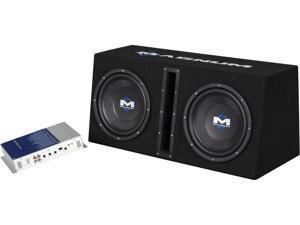 """MTX Dual 10"""" Magnum Enclosured Subwoofer & Amp Combo"""