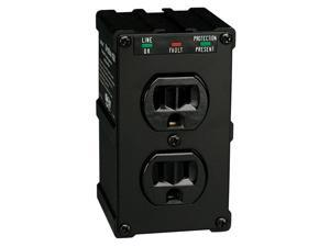 TRIPP LITE ULTRABLOK Wall Mount Direct Plug-in 2 Outlets 1410 Joules Direct Plug-in Isobar Surge Suppressor