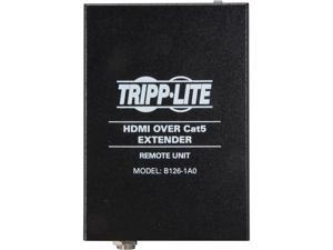 Tripp Lite HDMI Over Cat5/Cat6 Extender, Extended Range Receiver for Video and Audio 1080p at 60 Hz (B126-1A0)