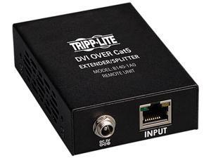 Tripp Lite B140-1A0 DVI Over Cat5 Active Extender Remote Unit TAA/GSA (Black)