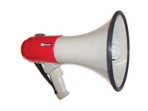 AmpliVox S602 White, Red MityMeg 25 Megaphone -25 Watts