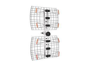 Antennas Direct DB4E Extended Range Multi-Directional Bowtie UHF Antenna65+ Miles