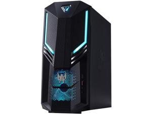 Acer Bilingual Gaming Desktop Predator Orion PO3-620-ER12 Intel Core i7 10th Gen 10700 (2.90 GHz) 16 GB DDR4 1 TB HDD 512 GB SSD NVIDIA GeForce RTX 2060 SUPER Windows 10 Home 64-bit