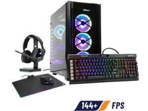 ABS iCUE Obsidian - Ryzen 9 3900X - Strix GeForce RTX 2080 Ti - 64GB DDR4 3200MHz - 2TB NVMe SSD - Liquid Cooling (240mm) - Gaming Desktop PC