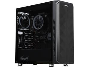 ABS Forge - AMD RYZEN 5 3600 - ASRock B450M/AC Motherboard - Rosewill SPECTRA D100 ATX Mid Tower Gaming Case - DIY Barebone Gaming Desktop System