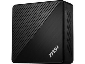 MSI Desktop Computer Cubi 5 10M-066US Intel Core i5 10th Gen 10210U (1.60 GHz) 8 GB DDR4 1 TB HDD 256 GB PCIe SSD Intel UHD Graphics Windows 10 Home 64-bit