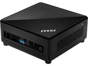 MSI Desktop Computer CUBI510M027 Intel Core i3 10th Gen 10110U (2.10 GHz) 8 GB DDR4 256 GB SSD Intel UHD Graphics Windows 10 Home 64-bit
