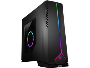 MSI Gaming Desktop Aegis SE 10CQ-075US Intel Core i5 10th Gen 10400F (2.90 GHz) 16 GB DDR4 512 GB SSD AMD Radeon RX 5600 XT Windows 10 Home 64-bit