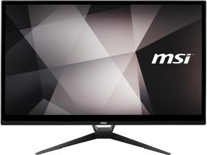 "MSI All-in-One Computer PRO 22XT 10M-080US Pentium Gold G6400 (4.00 GHz) 4 GB DDR4 1 TB HDD 64 GB SSD 21.5"" Touchscreen Windows 10 Pro 64-bit"