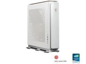 MSI Desktop Computer Creator P100A 10TG-416CA Intel Core i7 10th Gen 10700 (2.90 GHz) 32 GB DDR4 1 TB HDD 1 TB PCIe SSD NVIDIA GeForce RTX 3060 Ti Windows 10 Pro 64-bit