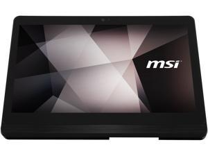 "MSI All-in-One Computer PRO 16 Flex 8GL-066US Celeron N4000 (1.10 GHz) 4 GB DDR4 64 GB SSD 15.6"" Touchscreen Windows 10 Pro 64-bit"
