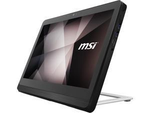 "MSI All-in-One Computer PRO 16 Flex 8GL-080US Celeron N4000 (1.10 GHz) 4 GB DDR4 128 GB SSD 15.6"" Touchscreen Windows 10 Pro 64-bit"