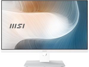 "MSI All-in-One Computer Modern AM241P 11M-240US Intel Core i7 11th Gen 1165G7 (2.80 GHz) 16 GB DDR4 512 GB PCIe SSD 23.8"" Windows 10 Home 64-bit"