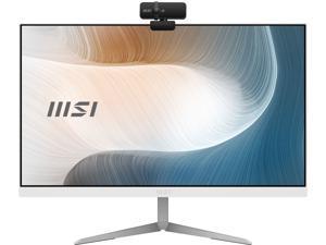"MSI All-in-One Computer Modern AM241 11M-257US Intel Core i3 11th Gen 1115G4 (3.00 GHz) 8 GB DDR4 256 GB PCIe SSD 23.8"" Windows 10 Home 64-bit"