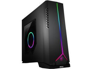 MSI Gaming Desktop Aegis SE 10SI-209US Intel Core i5 10th Gen 10400F (2.90 GHz) 16 GB DDR4 1 TB HDD 500 GB PCIe SSD NVIDIA GeForce GTX 1660 SUPER Windows 10 Home 64-bit