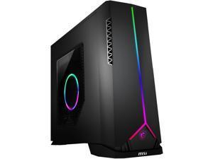 MSI Gaming Desktop Aegis SE 10SI-211US Intel Core i5 10th Gen 10400F (2.90 GHz) 16 GB DDR4 1 TB HDD 240 GB SSD NVIDIA GeForce GTX 1660 Ti Windows 10 Home 64-bit