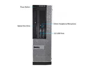 DELL 790 Desktop Computer Intel Core i5 2400 (3.10 GHz) 4 GB DDR3 250 GB HDD Intel HD Graphics 2000 Windows 10 Pro 64-Bit A Grade