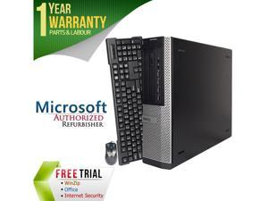 DELL Desktop Computer 9010 Intel Core i5 3rd Gen 3470 (3.20 GHz) 8 GB DDR3 320 GB HDD Intel HD Graphics 2500 Windows 7 Professional 64-bit