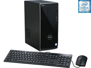 DELL Desktop Computer Inspiron 3650 i3650-3756SLV Intel Core i5 6th Gen 6400 (2.70 GHz) 12 GB DDR3L 1 TB HDD Intel HD Graphics 530 Windows 10 Home 64-Bit