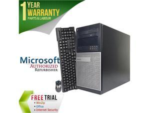 Refurbished: DELL Desktop Computer OptiPlex 7010 Intel Core i7 3rd Gen 3770 (3.40 GHz) 16 GB DDR3 2 TB HDD Intel HD Graphics ...