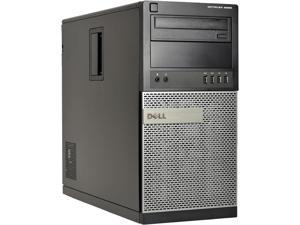 DELL Desktop Computer 9020-T Intel Core i7 4th Gen 4770 (3.40 GHz) 16 GB 2 TB HDD Intel HD Graphics Windows 10 Pro 64-Bit