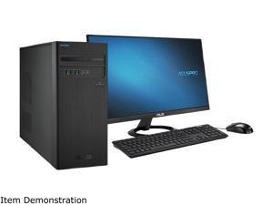 ASUS Desktop Computer D340MC-DB500 Intel Core i5 9th Gen 9400 (2.90 GHz) 8 GB DDR4 2 TB HDD 256 GB PCIe SSD Intel UHD Graphics 630 Windows 10 Home 64-bit