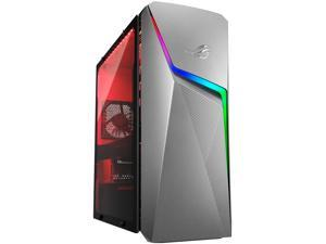 ROG Strix GL10DH - AMD Ryzen 5 3400G - GeForce GTX 1650 - 8 GB DDR4 - 256 GB SSD + 1 TB HDD - Wi-Fi 5 - Windows 10 Home - Gaming Desktop (GL10DH-NB551)