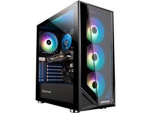 iBUYPOWER Gaming Desktop Trace4MR179A Ryzen 7 3rd Gen 3700X (3.60 GHz) 16 GB DDR4 1 TB HDD 480 GB SSD NVIDIA GeForce RTX 2060 Windows 10 Home 64-bit