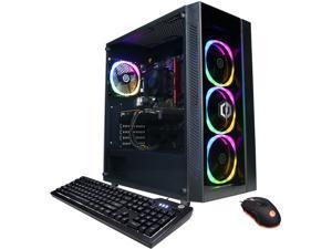 CyberpowerPC Gaming Desktop Gamer Master GM60070 Ryzen 5 5000 Series 5600X (3.70 GHz) 8 GB DDR4 1 TB PCIe SSD NVIDIA GeForce RTX 3060 Windows 10 Home 64-bit
