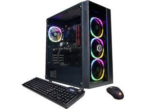 CyberpowerPC Gaming Desktop Gamer Master GMA9100CPGV2 Ryzen 5 5000 Series 5600X (3.70 GHz) 8 GB DDR4 1 TB PCIe SSD NVIDIA GeForce RTX 3060 Windows 10 Home 64-bit