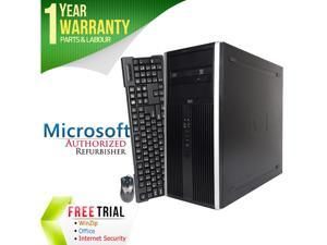 HP Desktop Computer Elite 8000 Core 2 Duo E8400 (3.00 GHz) 8 GB DDR3 2 TB HDD Intel GMA 4500 Windows 7 Professional 64-bit
