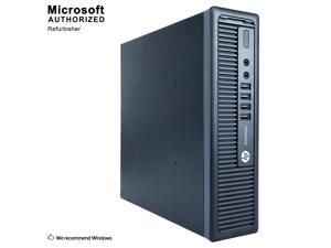 HP ProDesk 800 G1 USFF Intel Core i5 4590S 3.0 GHz, 8 GB DDR3, 240 GB SSD, DVD, WiFi, Windows 10 Pro 64-Bit, 1 Year Warranty