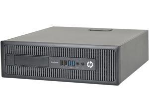 HP 600 G1-SFF Desktop Computer Intel Core i5 4th Gen 4570 (3.20 GHz) 8 GB DDR3 240 GB SSD Windows 10 Pro 64-bit