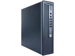 Refurbished HP Grade A EliteDesk 800G1 Ultra-slim Desktop Computer, Intel Core I5-4590S (3.0GHz), 8 GB DDR3 RAM, 512 GB SSD, USB WIFI Adapter, USB Bluetooth 4.0 Adapter, Windows 10 Professional 64-bit