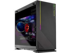 Skytech AZURE Gaming Computer PC Desktop - AMD Ryzen 7 3700X 3.6 GHz, RTX 2080 Ti 11 GB, 1 TB NVMe SSD, 16 GB DDR4 3000 MHz, Windows 10 Home 64-bit, 802.11ac Wi-Fi, 650W Gold